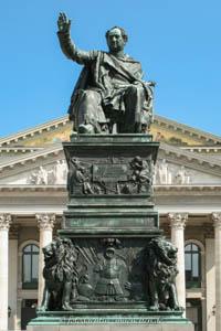 Rauch Christian Daniel - Max Joseph Denkmal