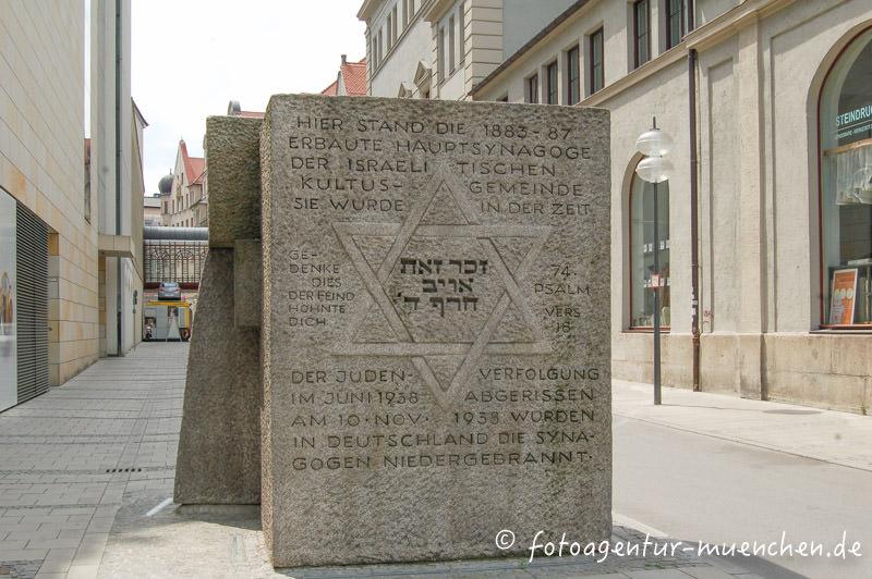 Gedenkstein - Synagoge