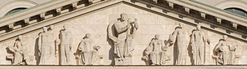 Apollo und die neun Musen - Brenninger Georg