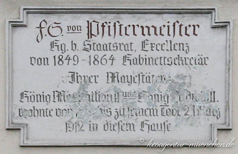 Gedenktafel - Pistermeister