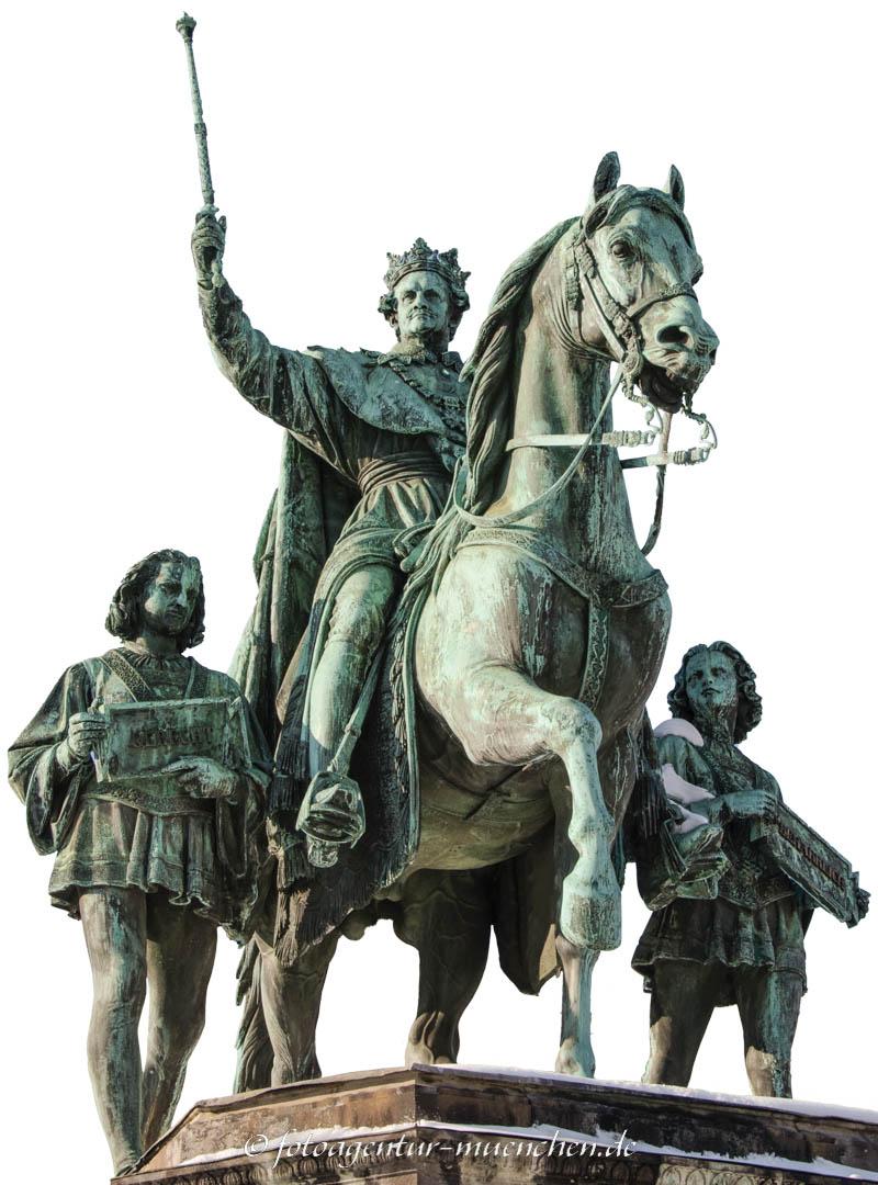 Reiterstandbild König Ludwig I. - Widnmann Max von