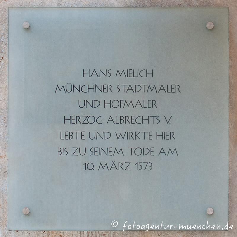 Gedenktafel - Hans Mielich