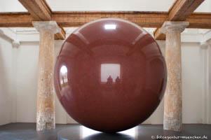 - Large Red Sphere Maria Walter De