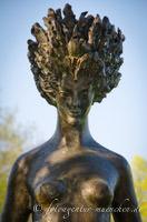 Bronzeskulptur Daphne