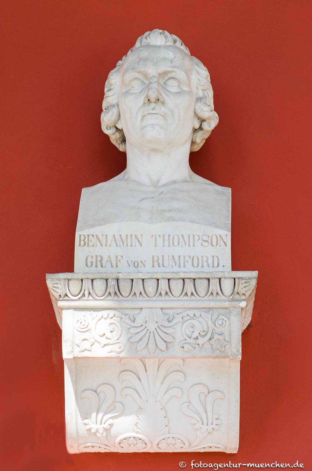 Ruhmeshalle - Sir Benjamin Thompson