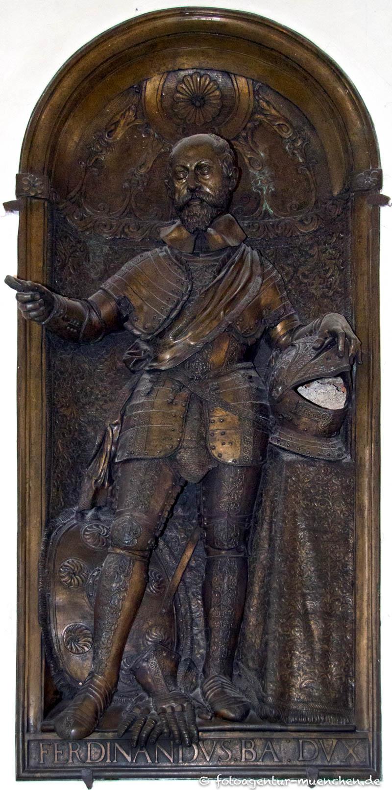 Grabplatte für Ferdinand von Bayern - Krumpper Hans