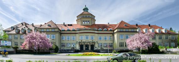 Gerhard Willhalm - Hauptgebäude des Botanischer Garten