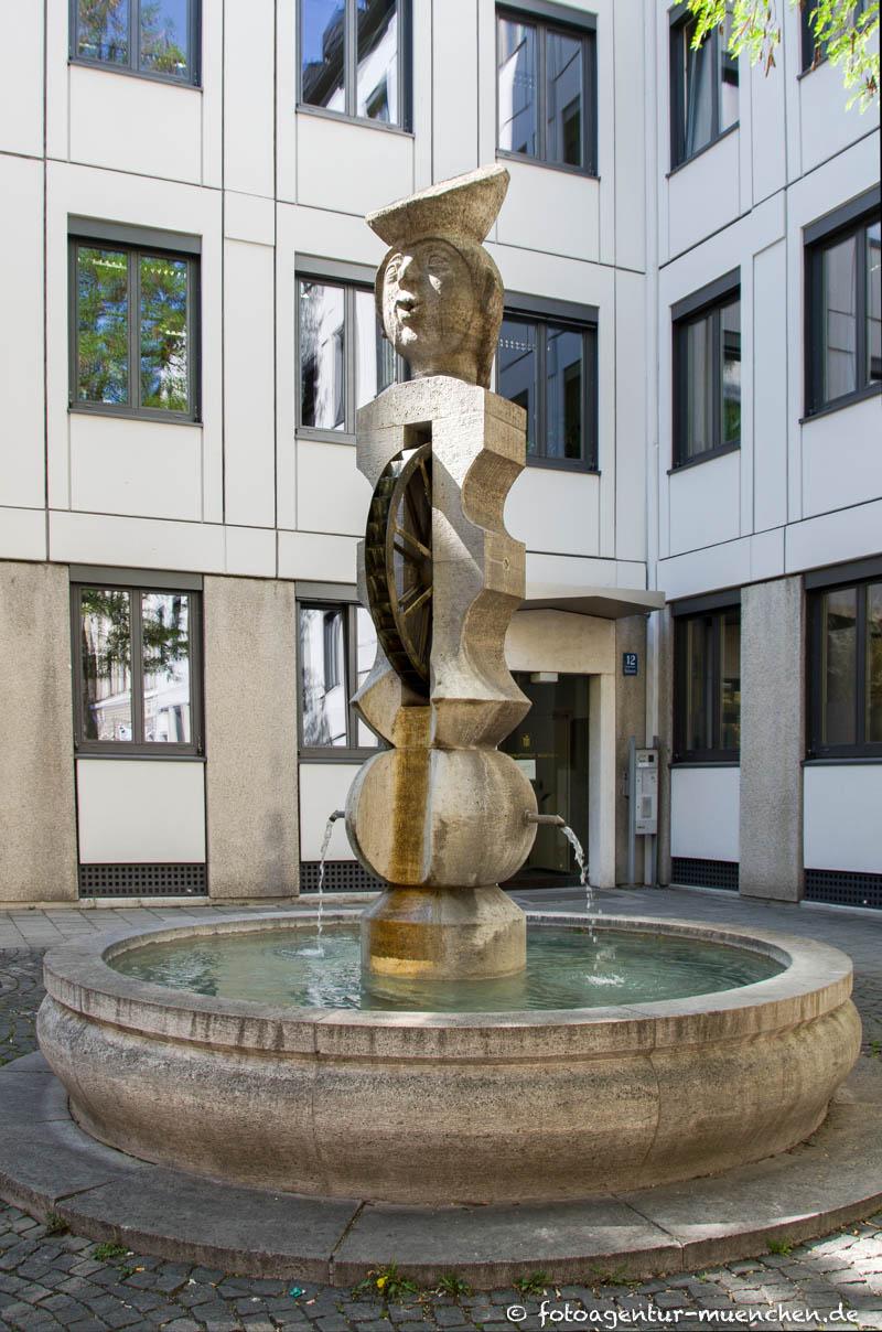 Radspielerbrunnen, Radl-Brunnen