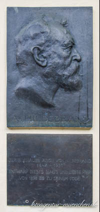 - Gedenktafel - Adolf von Hildebrand