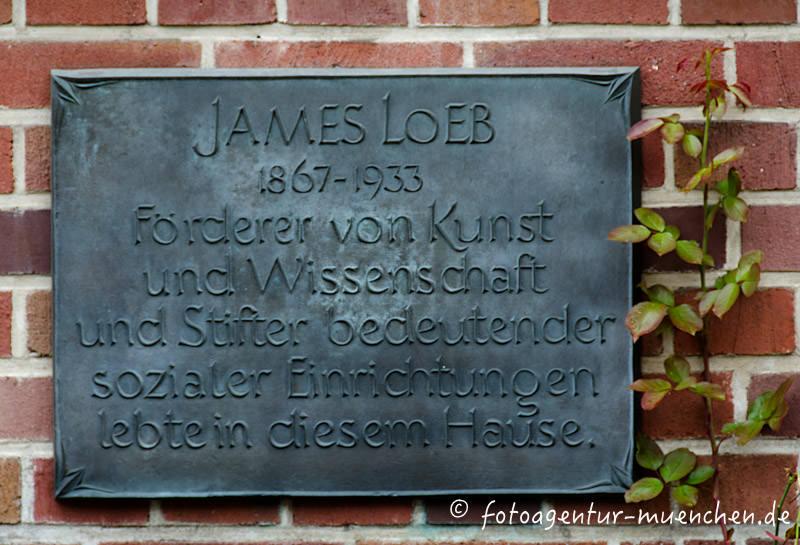 Gedenktafel - James Loeb