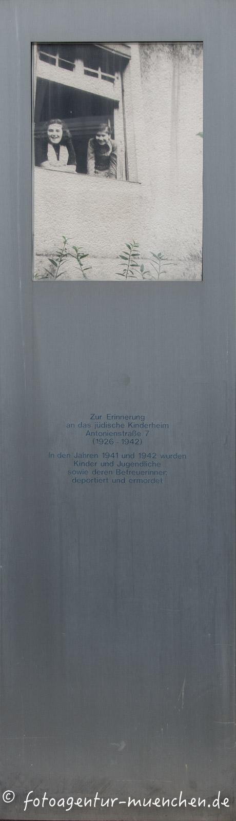 Gedenktafel - Antonienheim