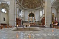 Gerhard Willhalm - Altarraum der Kirche St. Ursula