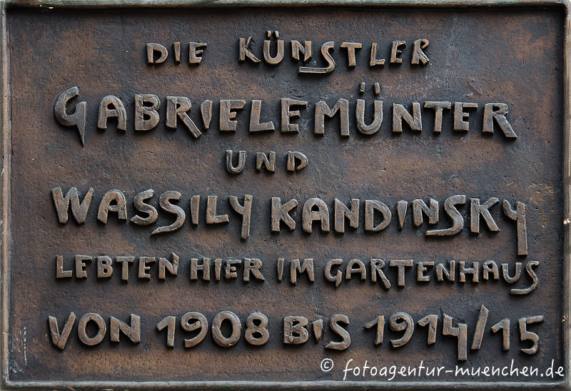 Münter Gabriele, Kandinsky Wassily