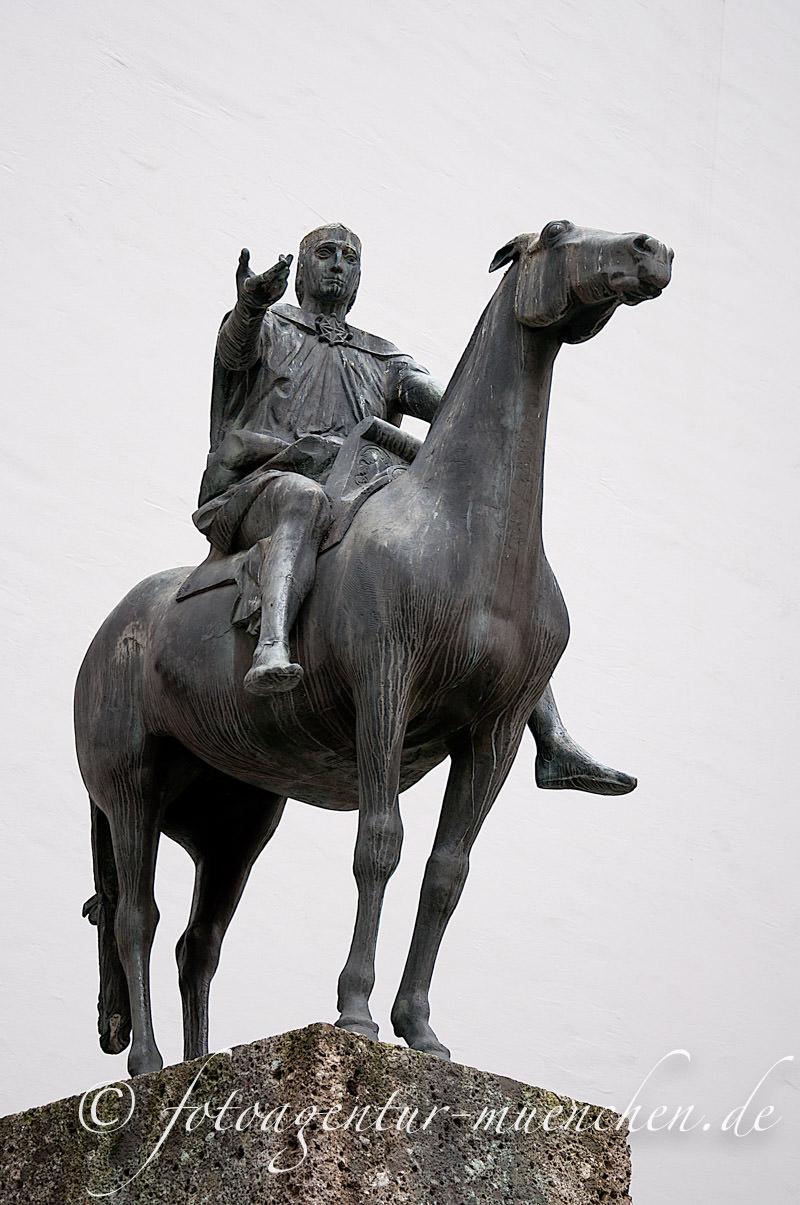 Reiterstandbild Ludwig der Bayer