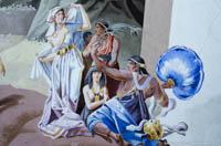 Gerhard Willhalm - Lüftlmalerei - Moses und das Goldene Kalb