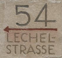Gerhard Willhalm - Hausnummer - Lechelstraße