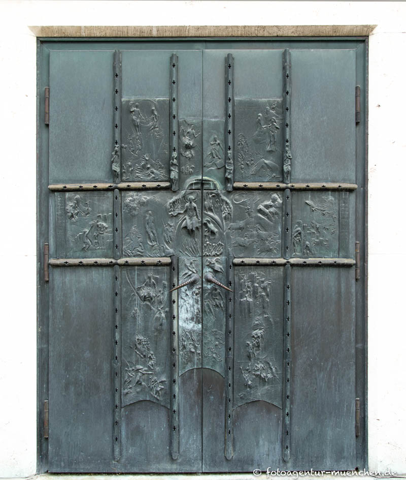 Bronzeportal des Angerklosters - Rückel Anton