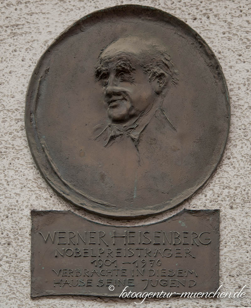 Gedenktafel - Werner Heisenberg