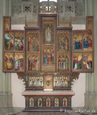 Heilig-Kreuz-Kirche - Marienaltar