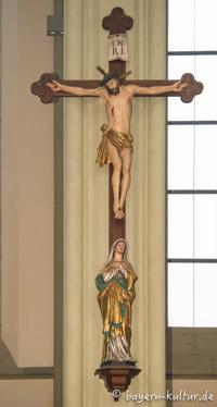 Heilig-Kreuz-Kirche - Jesus am Kreuz