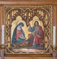 Heilig-Kreuz-Kirche - Josephsaltar