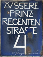 Gerhard Willhalm - Hausnummer - Äußere Prinzregentenstraße