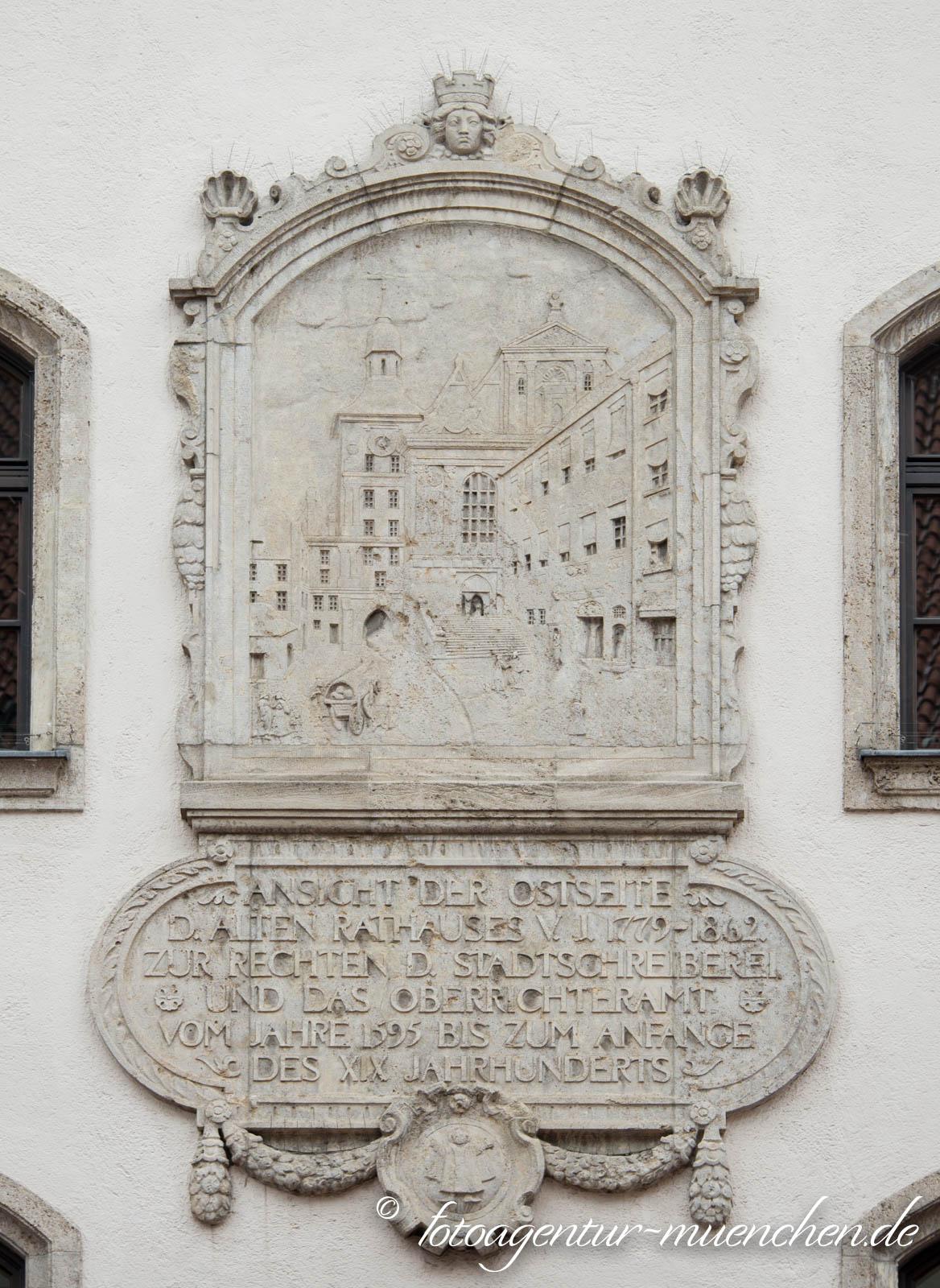 Altes Rathaus - Ansicht der Ostseite