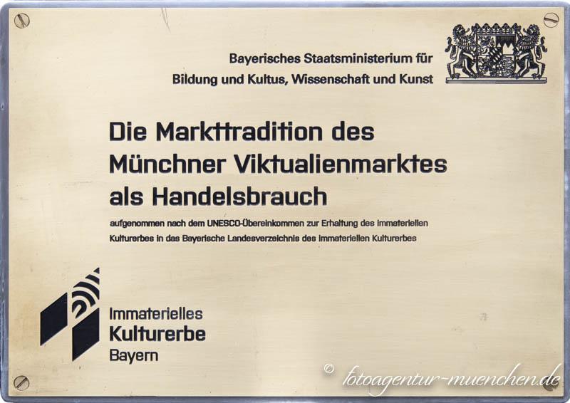 Immaterielles Kulturerbe Viktualienmarkt