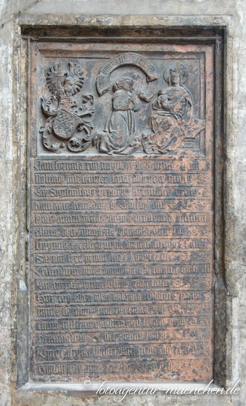 Frauenkirche - Votivtafel Herzog Sigmund