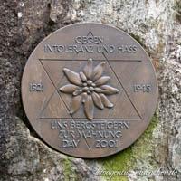 - Gedenkstein- Alpenverein