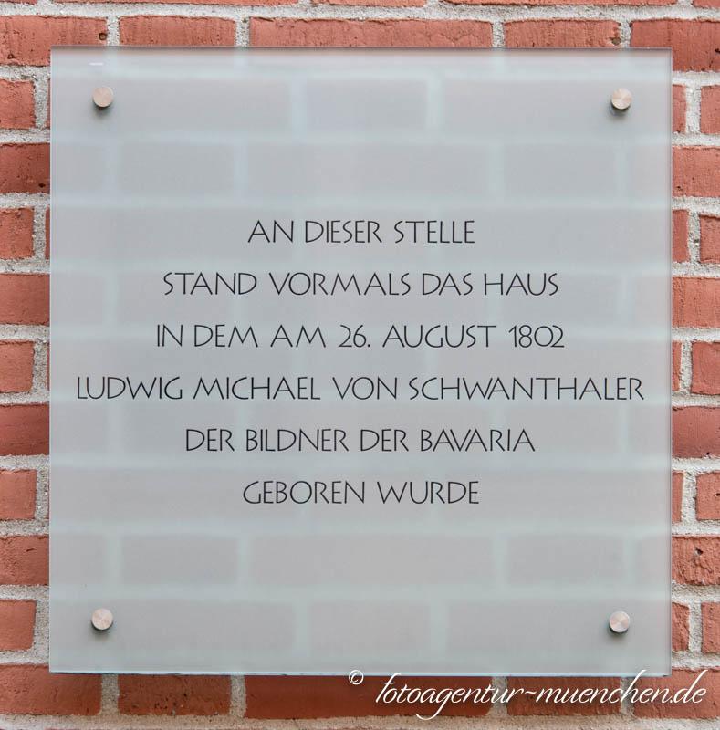 Gedenktafel - Ludwig von Schwanthaler