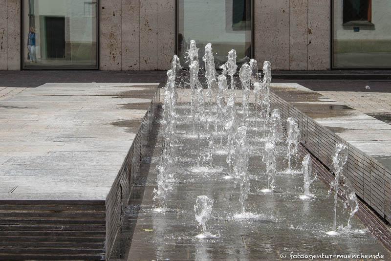 St.-Jakobs-Platz-Brunnen, Wassertisch