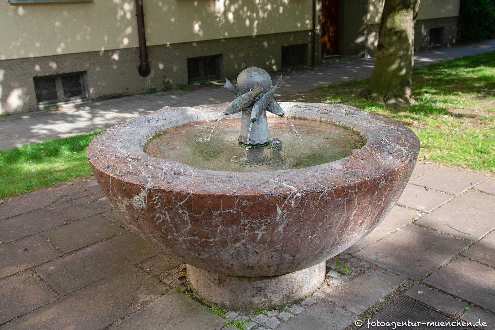 Fisch-Brunnen