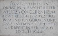 - Gedenktafel - Albrecht Mertz von Quirnheim