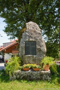 Irschenhausen - Kriegerdenkmal - Irschenhausen